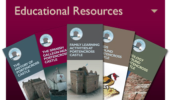 Portencross Castle Educational Resources