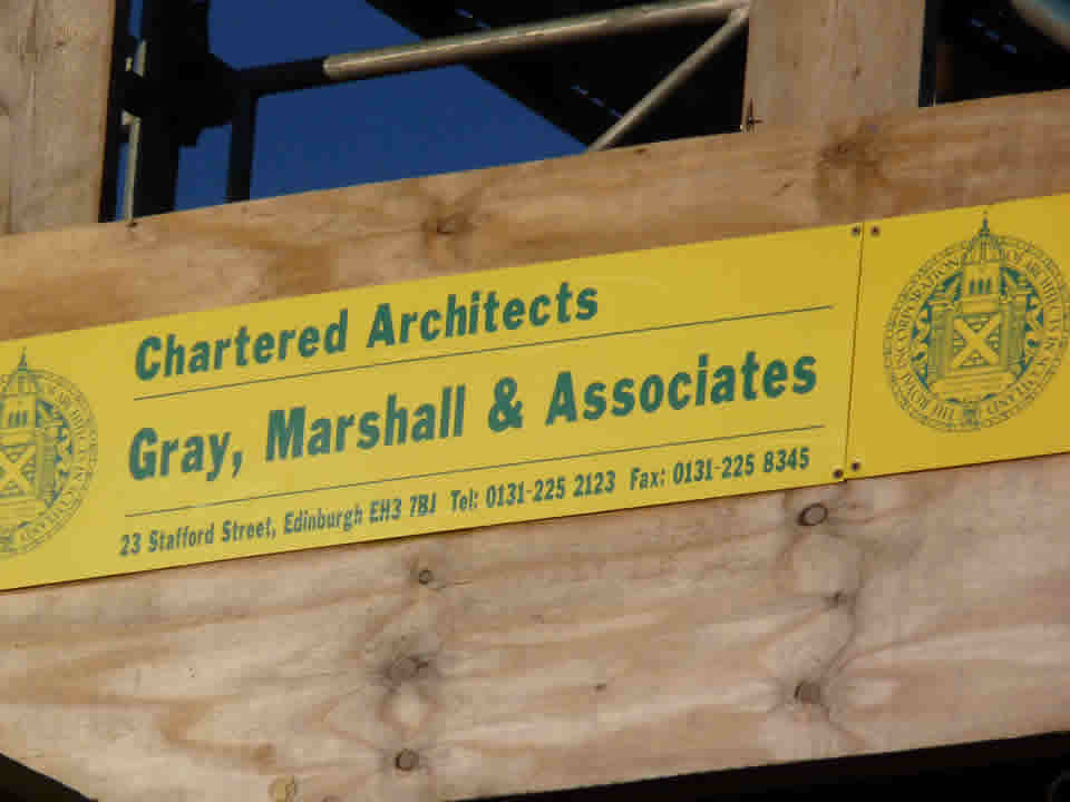 Marshall architect sign